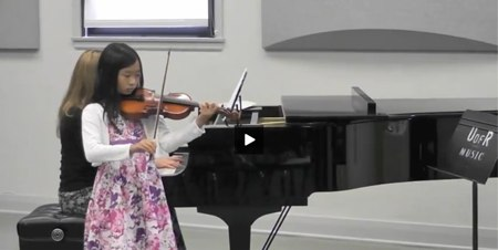 Jessica Chao performs Humoresque