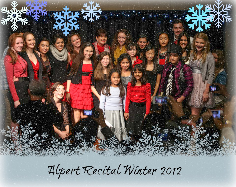 Happy Holidays from the Alpert Studio