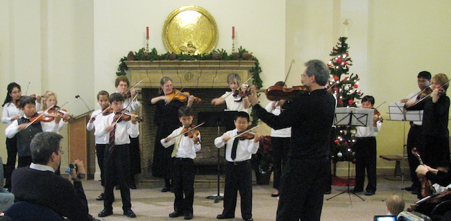 alpert studio group violin class