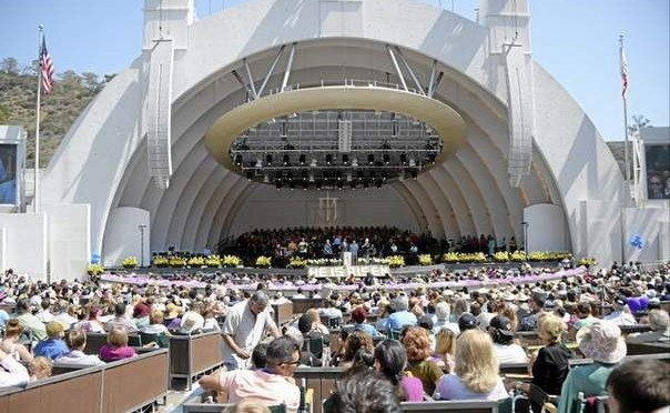 Bill Alpert at the Hollywood Bowl