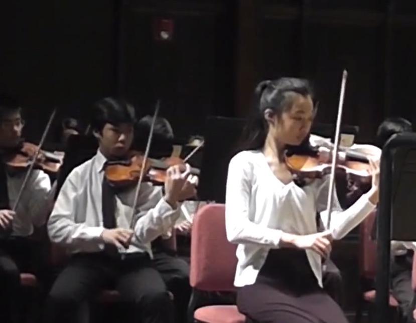 Jessica Chao leads the CYMO Intermezzo Orchestra