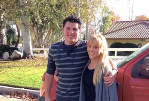 Brandon Alpert and Lauren Butler