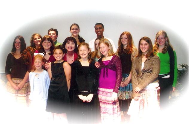 Remember when? 2005 studio recital.